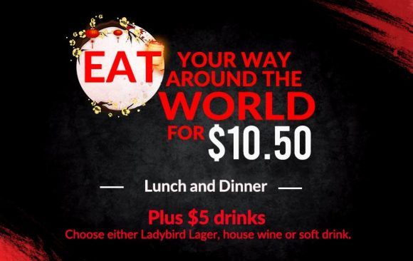 Eat your way around the world for $10.50